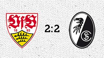 VfB Stuttgart - SC Freiburg 2:2 (Fotografik: STUGGI.TV)