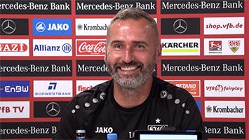 """VfB-Trainer Tim Walter vor Auftakt gegen Hannover 96: """"Ich bin kein Gute-Laune-Bär"""" (Foto: STUGGI.TV)"""