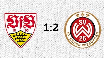 VfB Stuttgart - Wehen Wiesbaden 1:2 (Fotografik: STUGGI.TV)