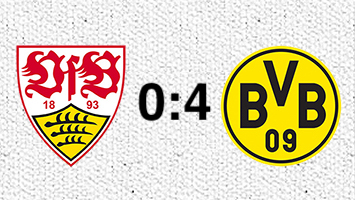 VfB Stuttgart - Borussia Dortmund 0:4 (Fotografik: STUGGI.TV)