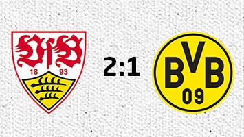 VfB Stuttgart - Borussia Dortmund 2:1 (Fotografik: STUGGI.TV)