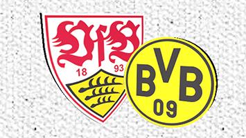 Das sagt Trainer Jürgen Kramny vor dem Heimspiel gegen Borussia Dortmund. Grafik: Goes/STUGGI.TV