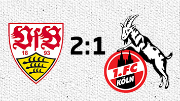 VfB Stuttgart-1. FC Köln 2:1 (Fotografik: STUGGI.TV/Frank)
