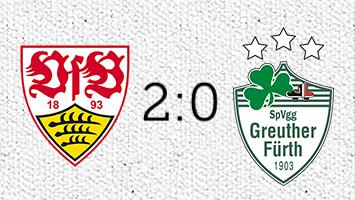 VfB Stuttgart - Greuther Fürth 2:0 (Fotografik: STUGGI.TV)