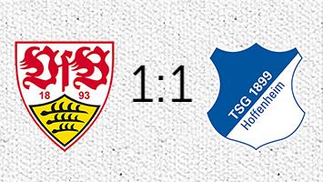 VfB Stuttgart - 1899 Hoffenheim 1:1 (Fotografik: STUGGI.TV)