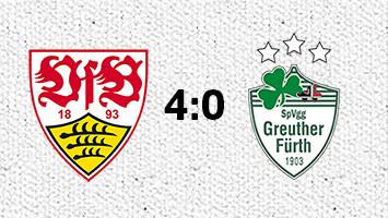 Die besten Tweets und Stimmen nach dem 4:0-Sieg des VfB Stuttgart gegen Greuther Fürth. Grafik: Rau/STUGGI.TV