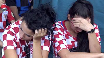 Kroatien-Fans auf der Theo in Stuttgart nach den WM-Finale gegen Frankreich (Foto: STUGGI.TV)