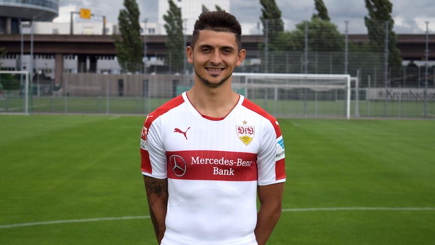 VfB-Spieler Matthias Zimmermann (Foto: STUGGI.TV/Goes)