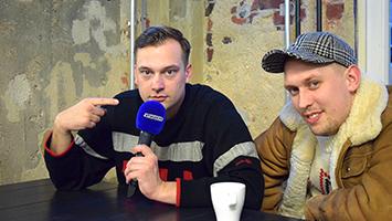 Gangster-Rapper Zugezogen Maskulin im Interview (Foto: STUGGI.TV)